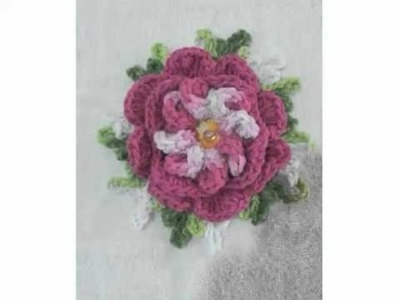 Flor Angela - Regiane Croche