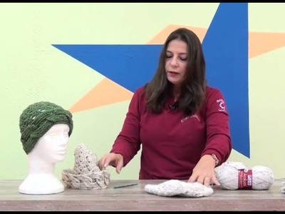 Gorro Amor Perfeito em Crochê com Cisne Acalanto.Cristina Amaduro.