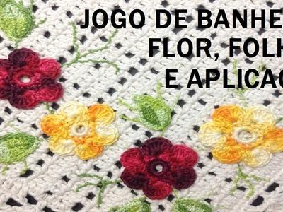 JB - Flor, Folha e Aplicação #LuizadeLugh