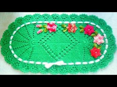 Jogo de cozinha em crochê:Tapetinho Parte 1