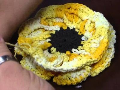 Mulher.com - 03.11.2015 - Flor em crochê - Marcelo Nunes PT2