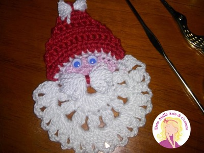 Papai Noel em Crochê - 1° Vídeo Aula da Nossa Série Especial de Natal