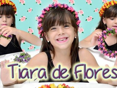 Tiara de Flores Com - Manu Ribeiro
