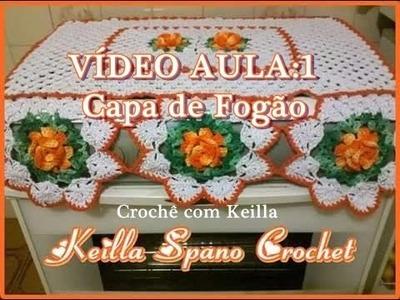 VÍDEO AULA: Capa de Fogão- PARTE1