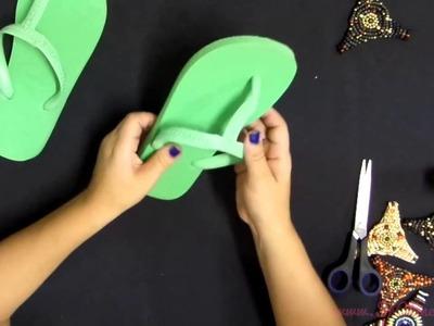 11 - Sr. Chinelo - Como cortar a correia e aplicar o cabedal