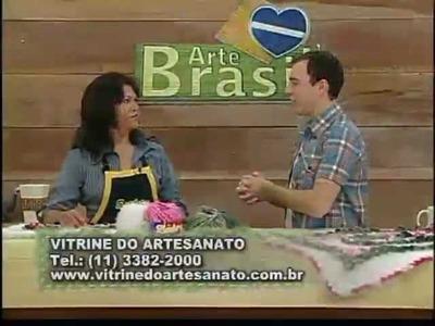 ARTE BRASIL - FLÁVIA FERRARI E MARIA JOSÉ (19.01.2012)