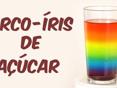Beba um arco-íris (experimento de Física)