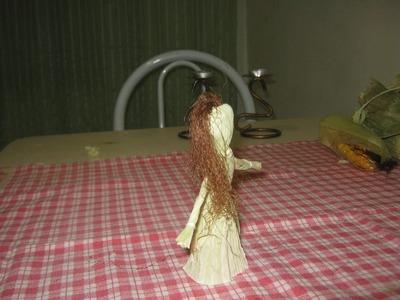 Boneca de milho para Lammas ou Imbolc