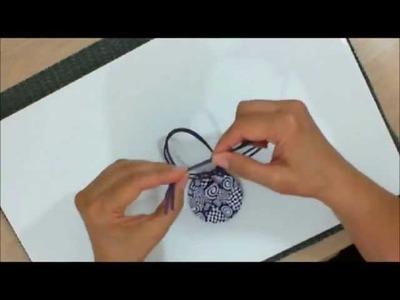 Cerâmica plástica - pingente psicodélico