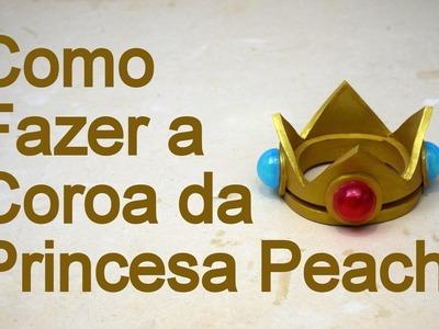 Como Fazer a Coroa da Princesa Peach para Cosplay - Dicas de Cosmaker
