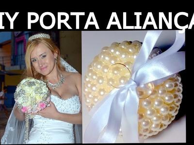 COMO FAZER PORTA ALIANÇAS LINDOOO : )