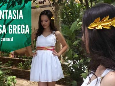 Fantasia improvisada - DEUSA GREGA (inspiração) - VÍDEO 1