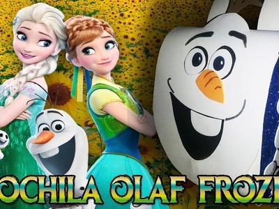 Lembrancinha FROZEN- Mochilinha do OLAF- FROZEN FEVER