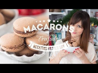 MACARON DE CHOCOLATE TRUFADO | 126 #ICKFD Dani Noce