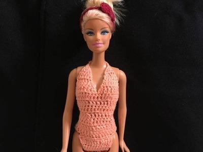 Maio para Barbie. croche - LiiArt