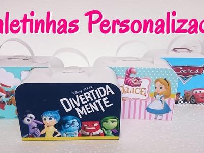 Maletinhas Personalizadas Festa Infantil
