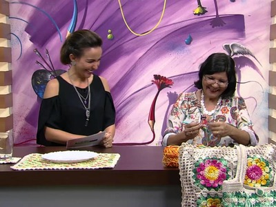 Mulher.com - 16.02.2016 - Arte em crochê - Marta Araujo PT1