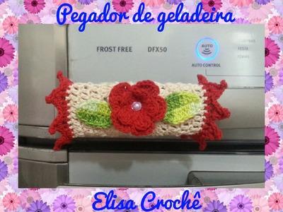 PEGADOR DE GELADEIRA EM CROCHÊ # ELISA CROCHÊ