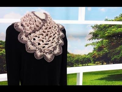 Programa Arte Brasil - 26.05.2015 - Noemi Fonseca - Gola 3D em Crochê