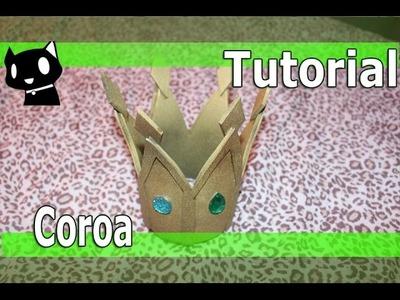 Tutorial: Como fazer uma coroa. crown