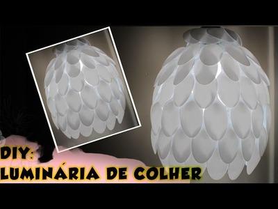 Como fazer | DIY: Luminária de colher
