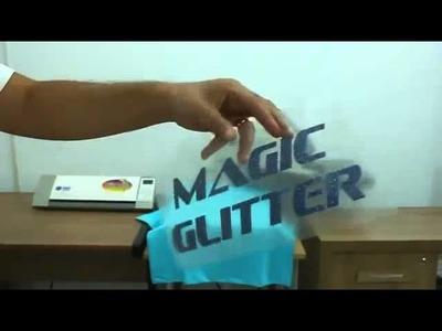 Magic Glitter - Aplicação de Glitter em Camiseta de Algodão - TheMagicTouch Brasil
