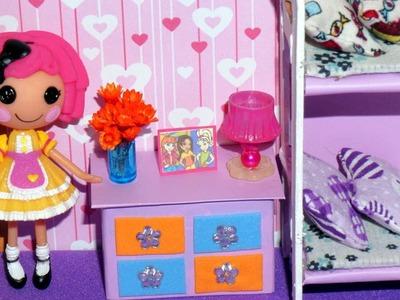 Como fazer cômoda para mini boneca (Polly, Princesas, Lalaloopsy etc)
