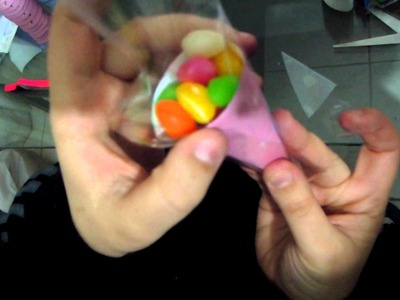 Como fazer cone de jujuba!!