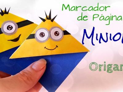 Marcador de Página Minions - Origami Bookmark