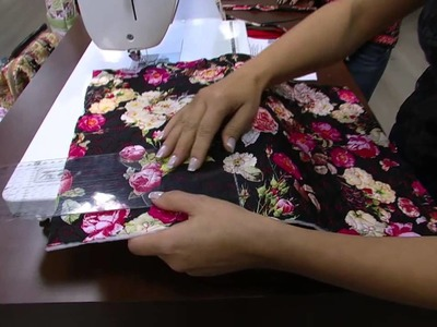 Mulher.com - 11.09.2015 - Bolsa surpresa em patchwork - Nivea Silva  PT1