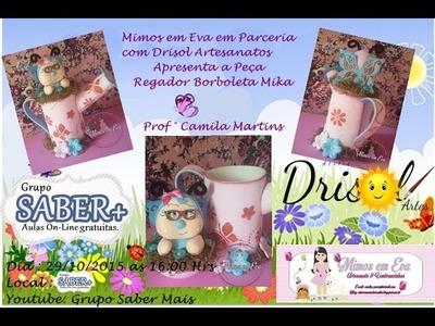 Regador Borboleta Mika - Prof ° Camila Martins