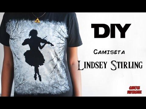 DIY: CAMISETA LINDSEY STIRLING | Garota VintaGeek