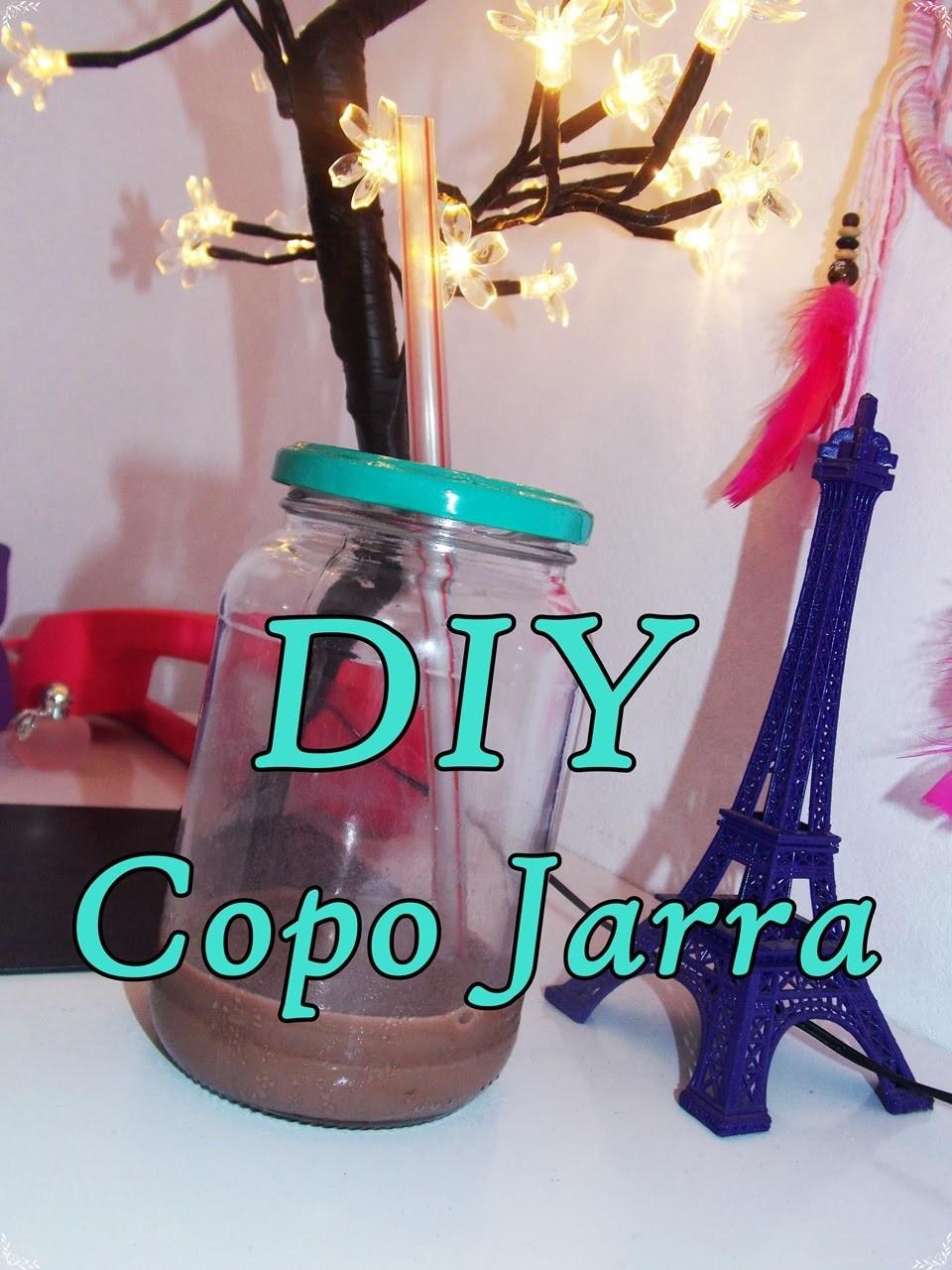 DIY -Copo Jarra -Mason Jar Cup
