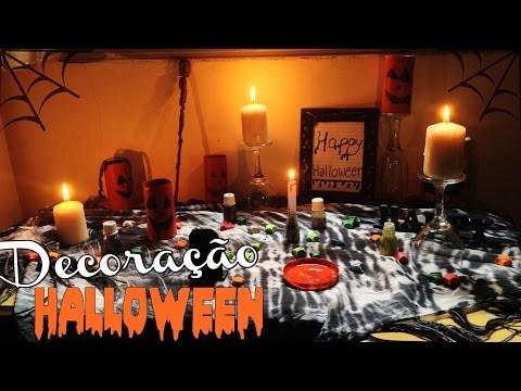 DIY: Decoração de Halloween