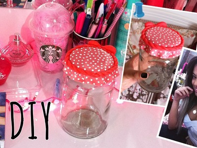 DIY: Decoração fofa de potinho multiuso ♥