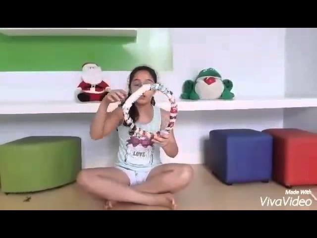 Especial de Natal #1 DIY Guirlanda