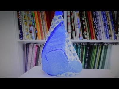 Bolsa.mochila de tecido das Borboletas - Maria Adna Ateliê - Cursos de bolsas e mochilas de tecido