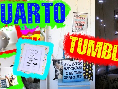 DIY: Decore seu quarto gastando pouco | TUMBLR