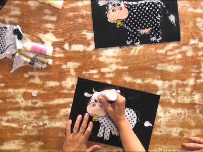 Adesivagem com tecido - Passo a Passo - Eliane Tanelli