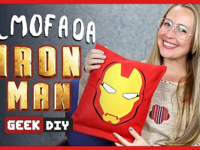 Almofada Homem de Ferro | DiY Geek