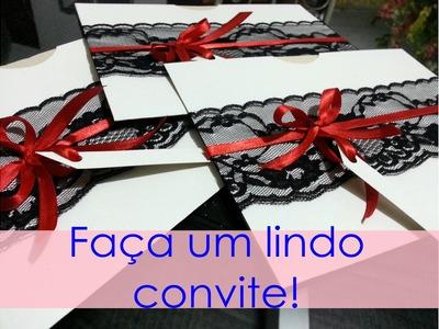 Aprenda a fazer envelopes para convites, com Rute Rávilla