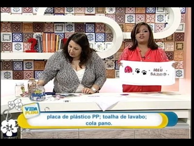 Artesanato - Adesivagem PET pelúcia