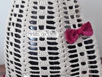 Capa Fritadeira Elétrica - Air Flyer de Crochê