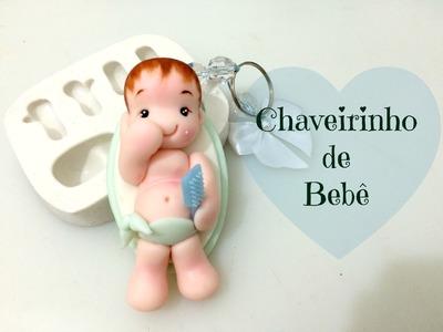 Chaveirinho Bebê no Molde - Laura Biscuit