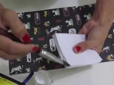 Como fazer bloquinhos de anotações