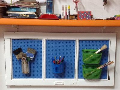 Como fazer pátina provençal - O truque do vidro