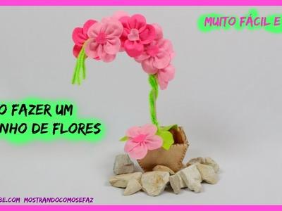 Como fazer um vaso de flor para o dia da mãe
