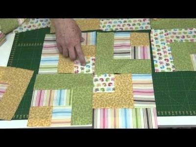 Dica da Tia Lili: manta de berço com técnica Bento Box