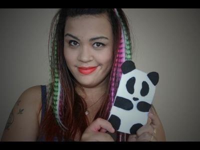 DlY: Case de panda para celular