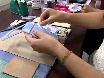 Mulher.com 17.04.2014 Lucimara Felizate - Bloquinho em cartonagem Parte 2.2